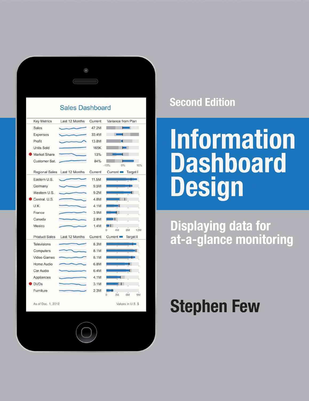 Information Dashboard Design By Few, Stephen